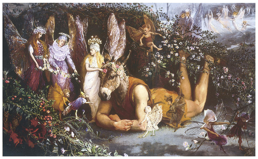 an analysis of the fairies in the play a midsummer nights dream by william shakespeare Classic play with fantasy elements a midsummer night's dream by william shakespeare and fairies in a wood outside athens.