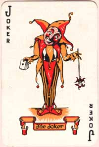 Joker in Deck of Cards http://www.shakespeare-navigators.com/king_lear/King_Lear_Notes_Act_1_Scene_4.html