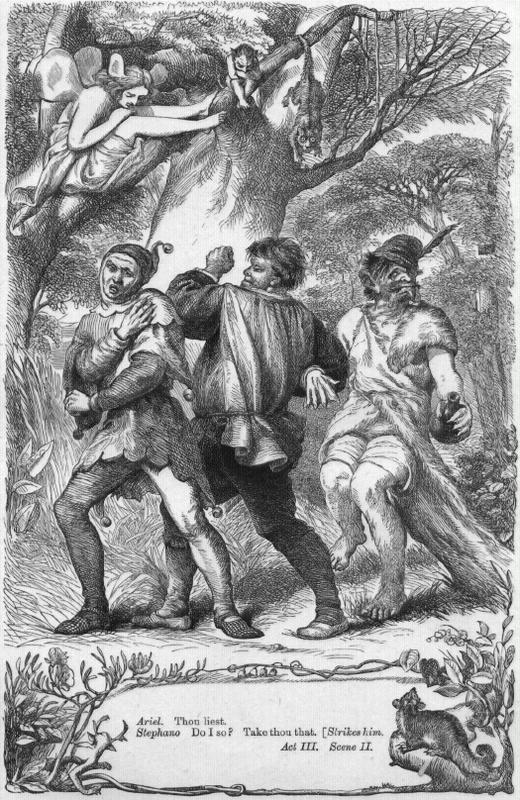 prospero constructs the tempest hierarchy and Reviewing shakespeare's the tempest from historical context, here lamming symbolizes the master prospero as the colonizer european and the slave caliban as the colonized caribbean nations.